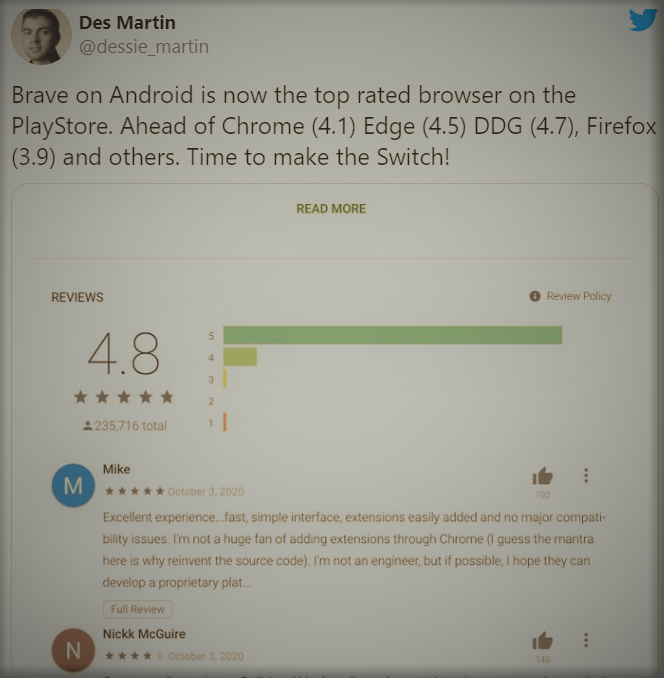 Brave-browser-play-store