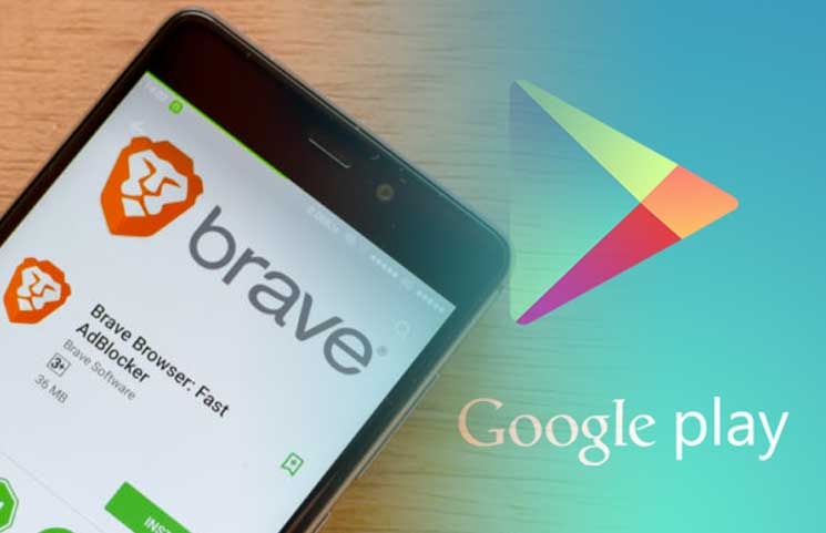 Brave play store