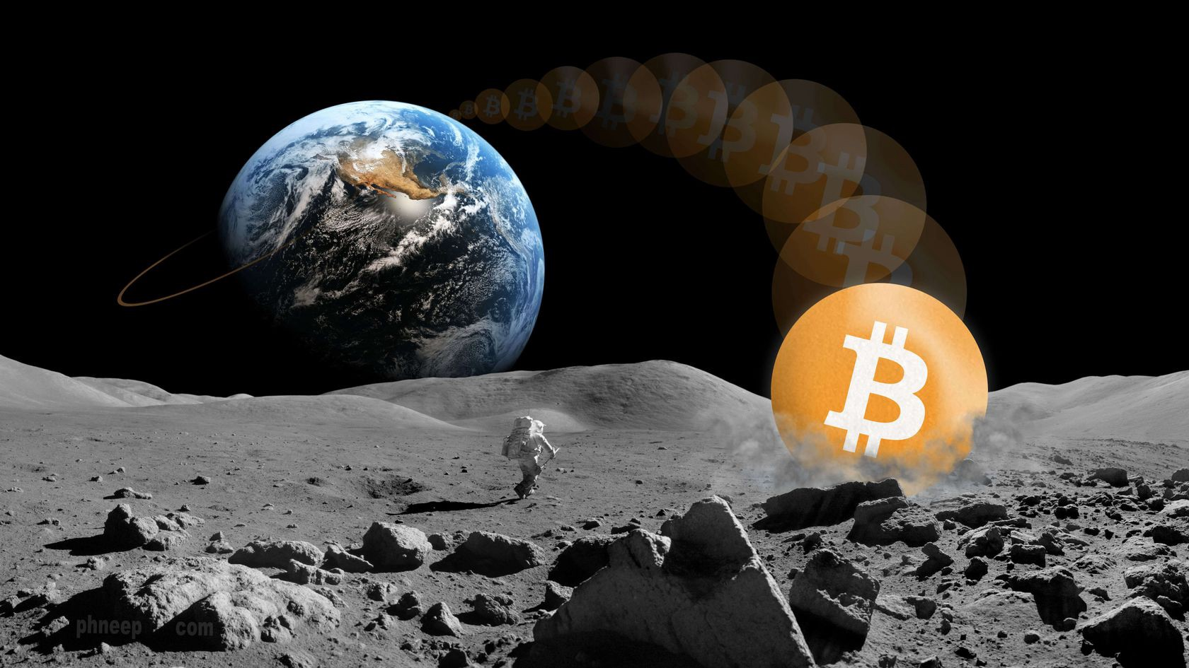 BTC to the moon
